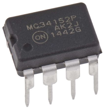 ON Semiconductor MC34152PG Dual High and Low Side MOSFET Power Driver, 1.5A 8-Pin, PDIP