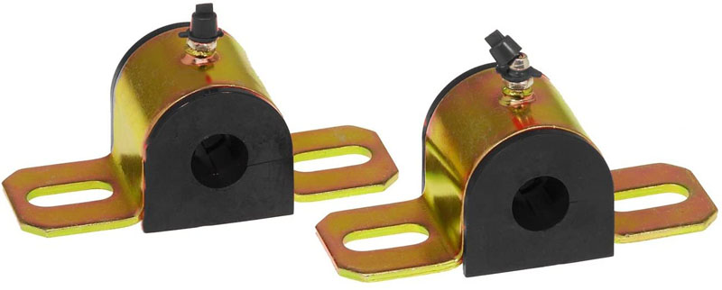 Prothane 19-1188-BL Universal Greasable Sway Bar Bushings - 32MM - Type B Bracket - Black