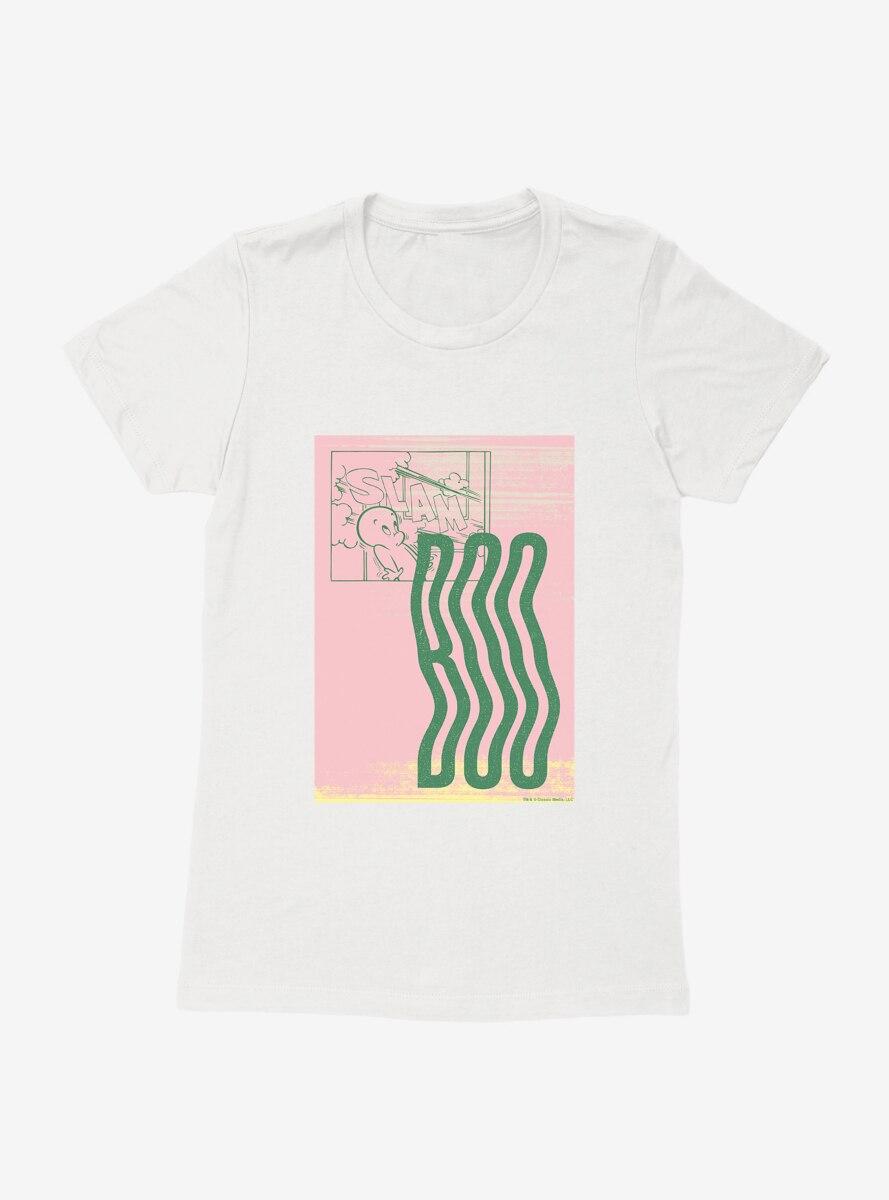 Casper The Friendly Ghost Boo Womens T-Shirt