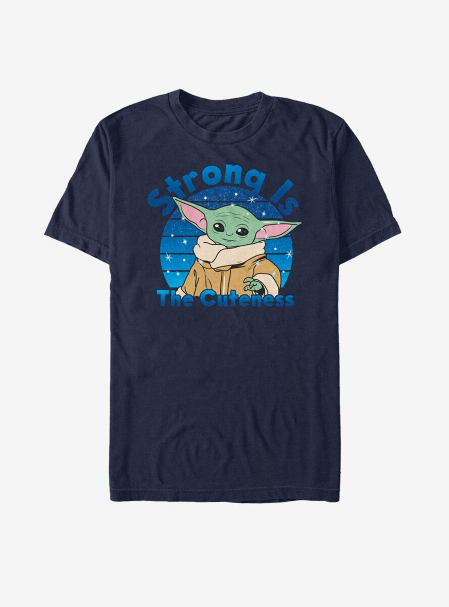 Star Wars The Mandalorian The Child Strong Is The Cuteness T-Shirt