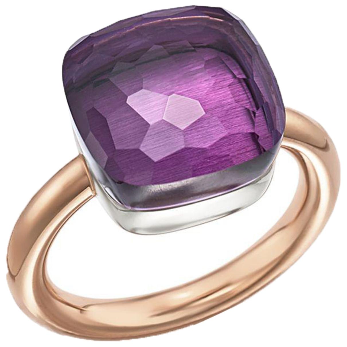 Pomellato Nudo Purple Yellow gold ring for Women 6 ¼ US