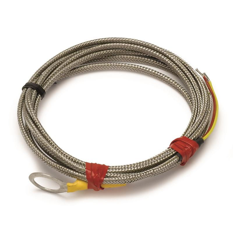 AutoMeter THERMOCOUPLE; TYPE K; SPARK-PLUG MOUNT; OPEN TIP; 6FT.; REPLACEMENT