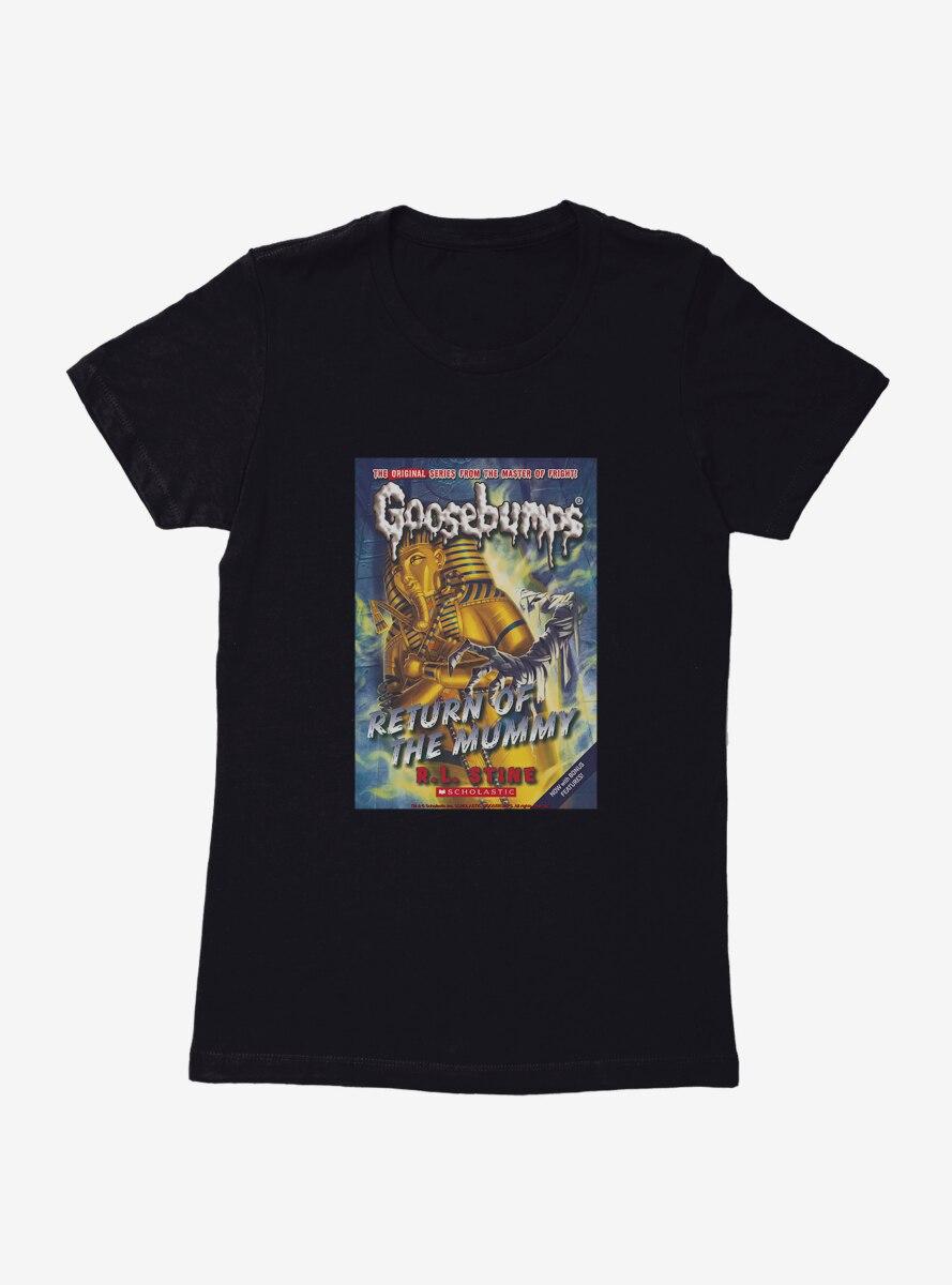 Goosebumps Return Of The Mummy Book Womens T-Shirt