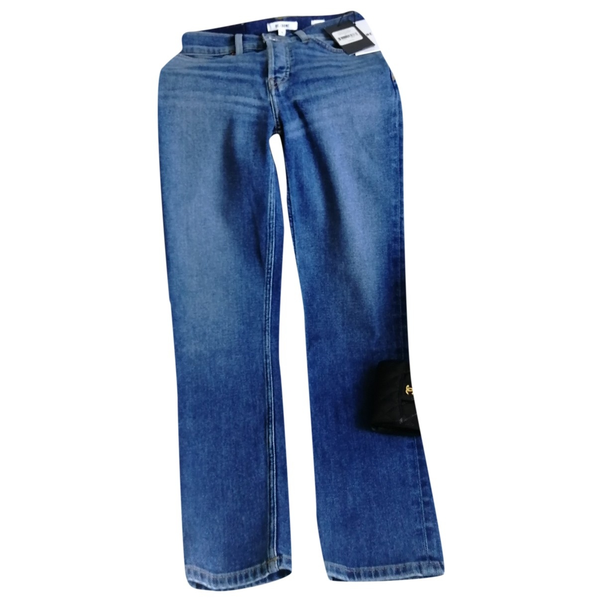 Re/done X Levi's \N Blue Cotton Jeans for Women 36 FR