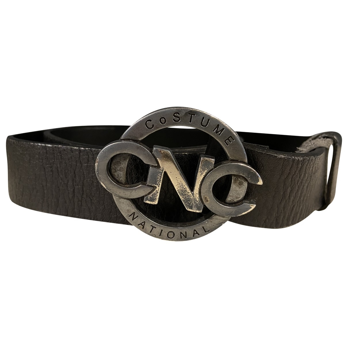 Costume National \N Black Metal belt for Women 80 cm