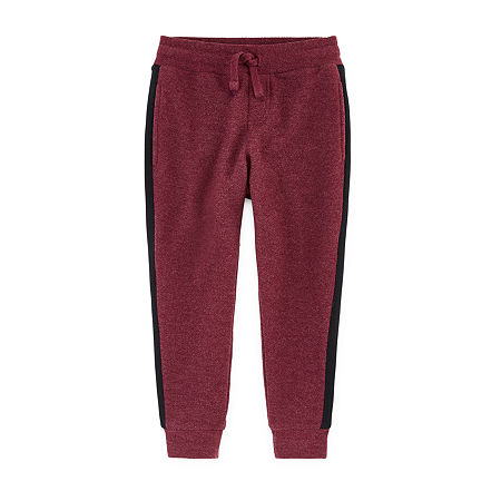 Arizona Little & Big Boys Cinched Jogger Pant, Large (14-16) , Red