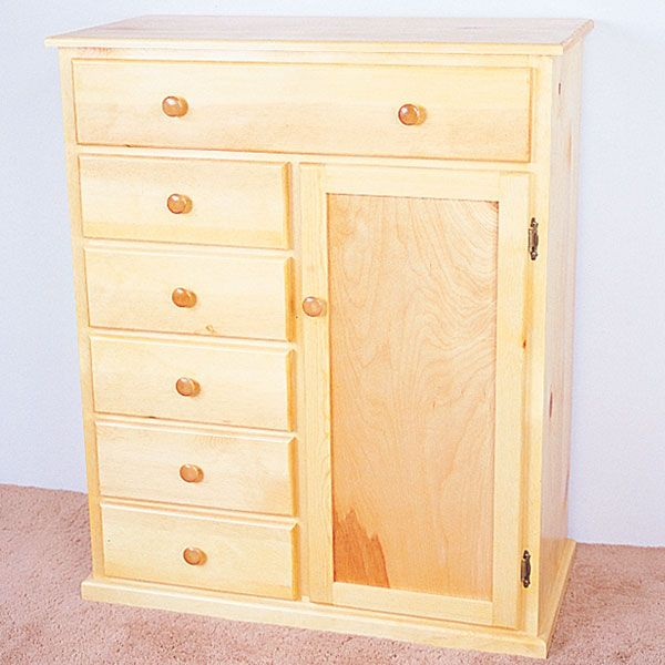 Woodworking Project Paper Plan to Build Child's Armoire, Plan No. 766