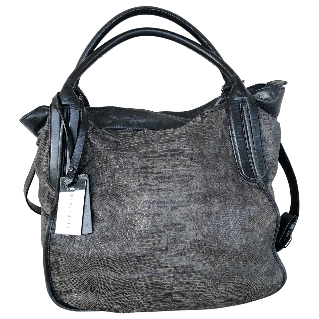Coccinelle \N Grey Leather handbag for Women \N