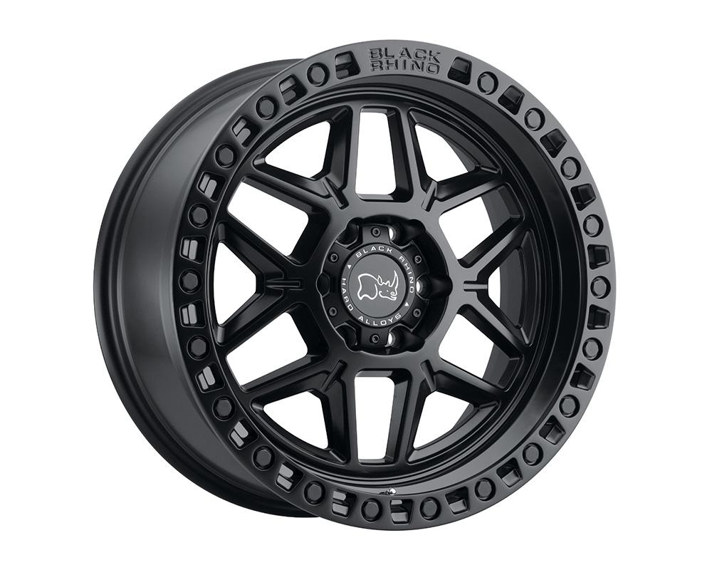Black Rhino Kelso Wheel 17x9  6x139.7 0mm Matte Black w/Black Bolts