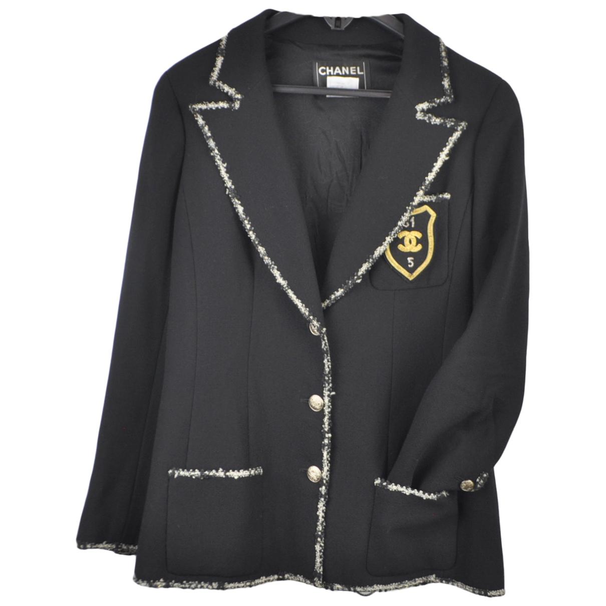 Chanel \N Navy Wool jacket for Women 42 FR