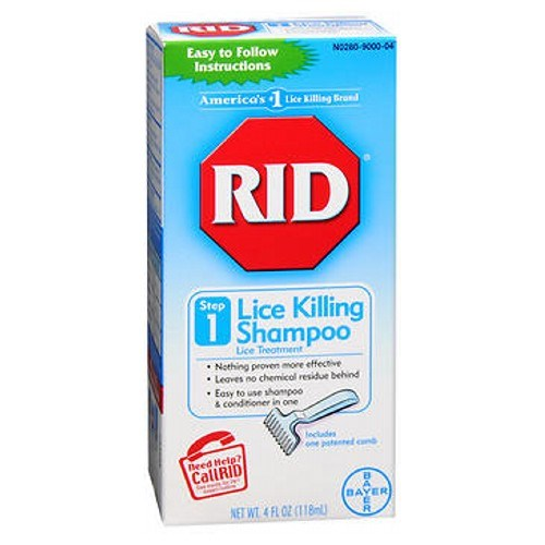 Rid Lice Killing Shampoo 4 oz by Rid