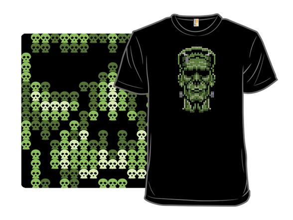 Frankenskull T Shirt