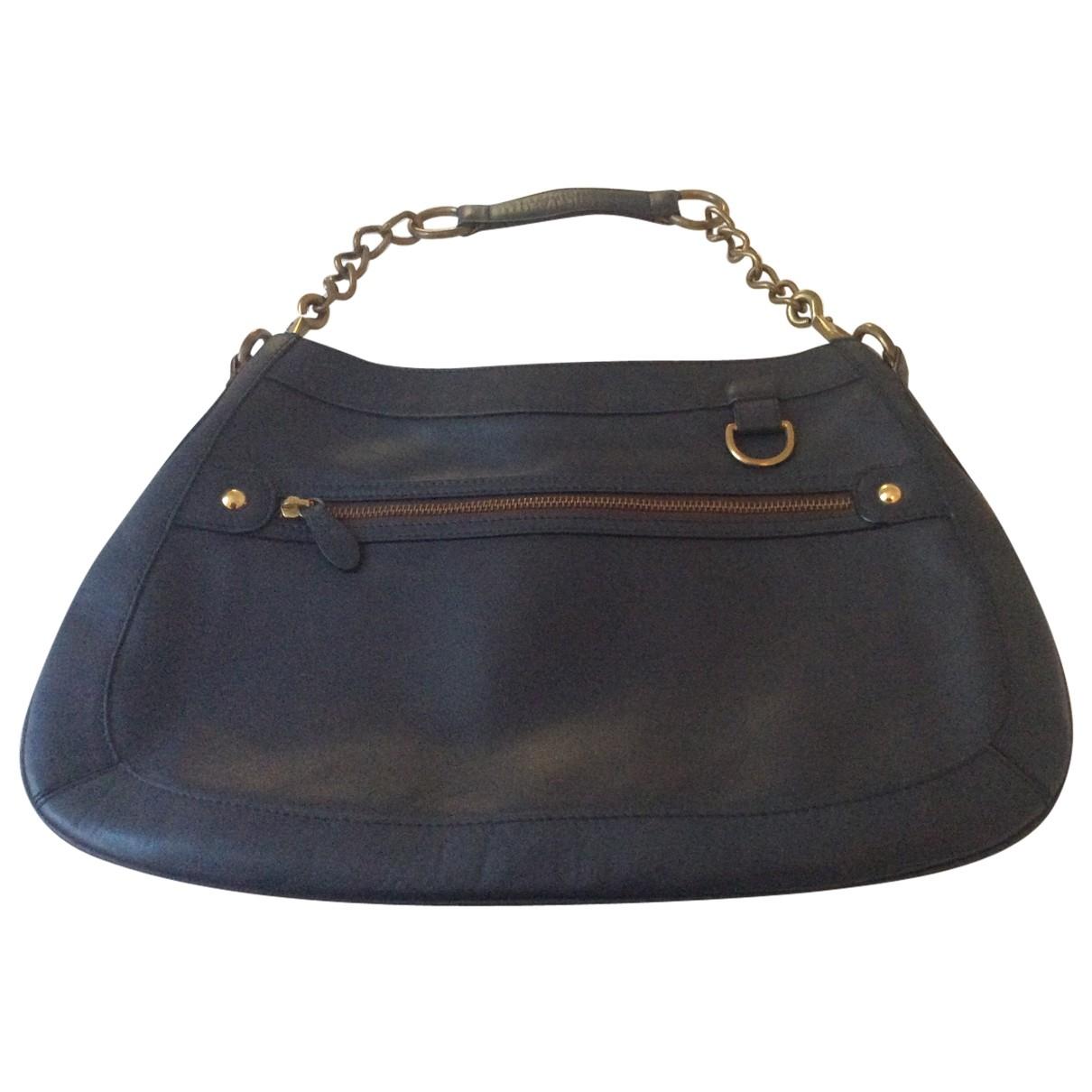 J & M Davidson \N Blue Leather handbag for Women \N