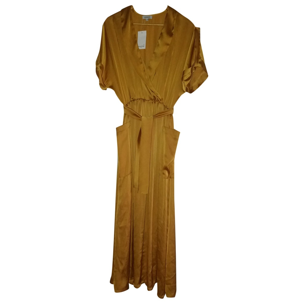Non Signé / Unsigned \N Gold dress for Women 38 FR