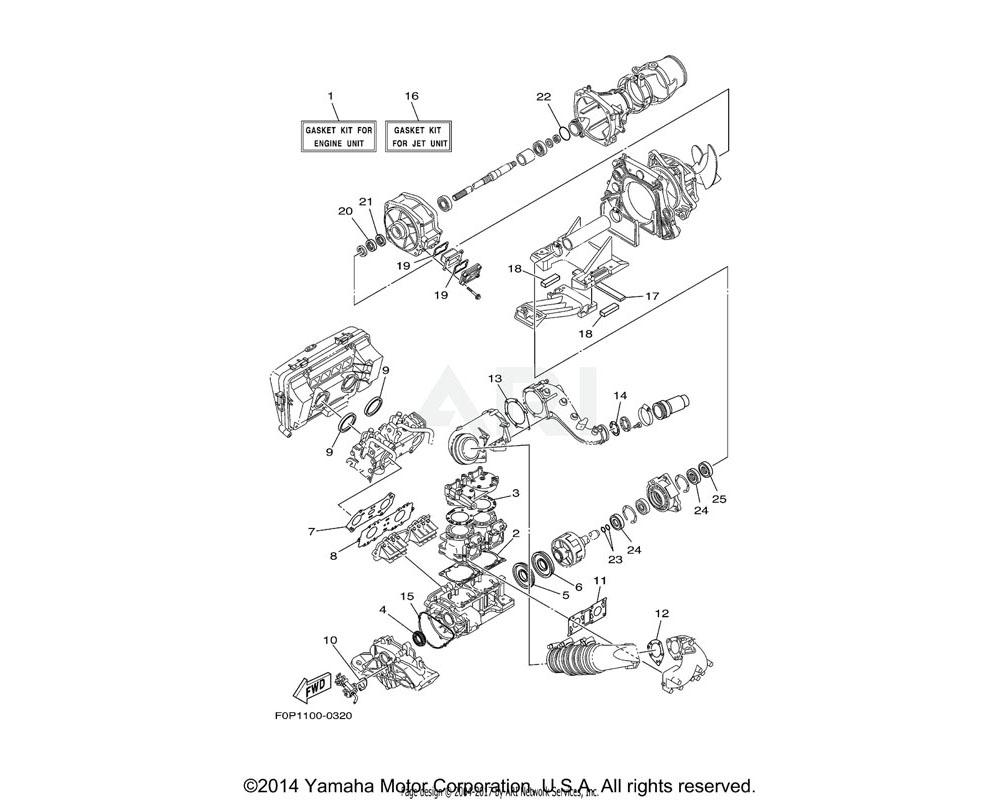 Yamaha OEM 66E-81168-10-00 O-RING