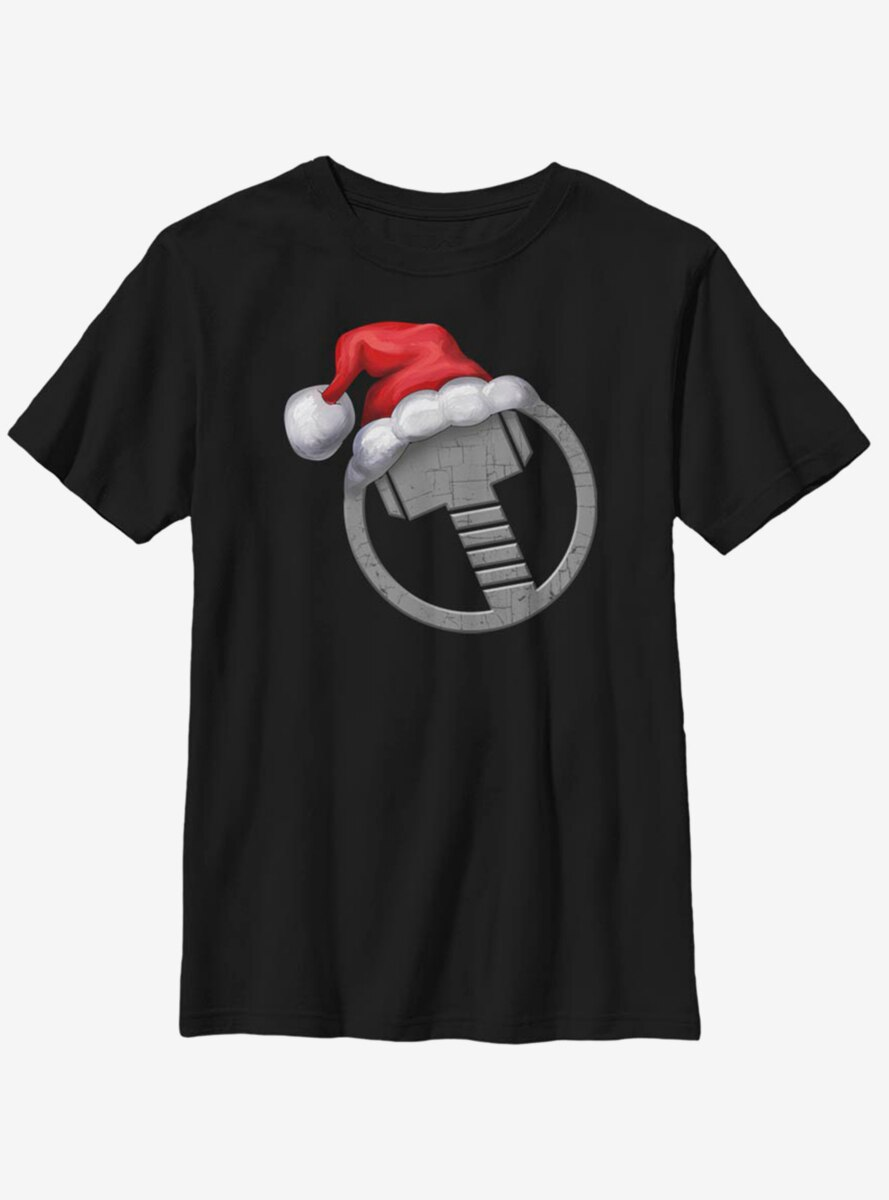 Marvel Thor Icon Holiday Hat Youth T-Shirt