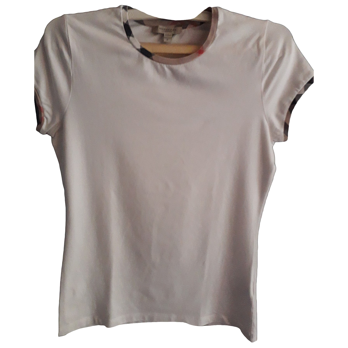 Burberry \N White Cotton  top for Women S International