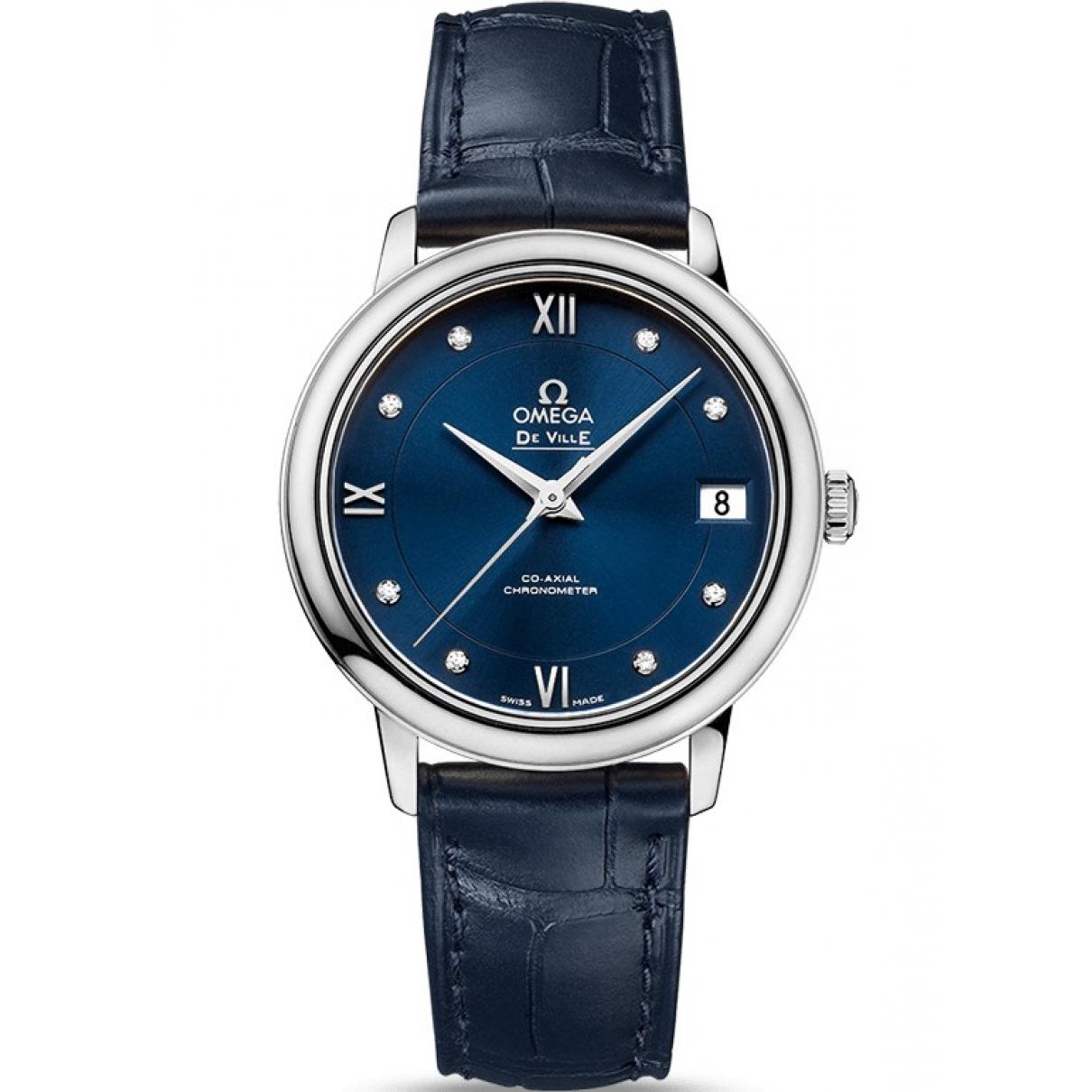 Omega De Ville  Blue Steel watch for Women \N