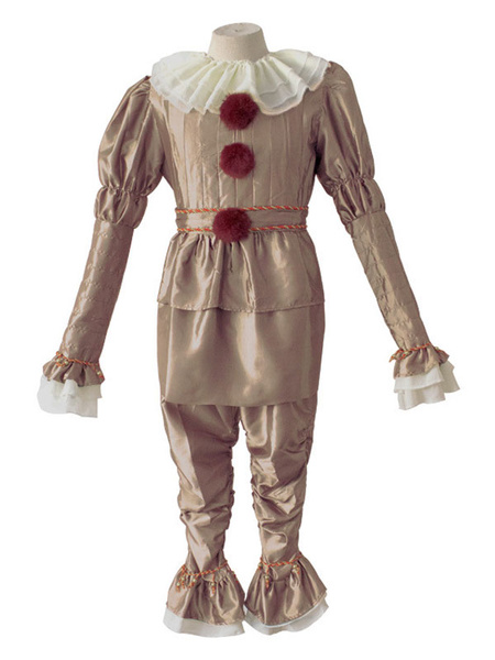 Milanoo It Movie Pennywise Halloween Cosplay Costume Outfit