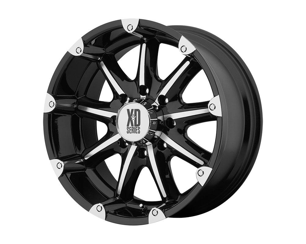 XD Series XD77929087318 XD779 Badlands Wheel 20x9 8x8x170 +18mm Gloss Black Machined