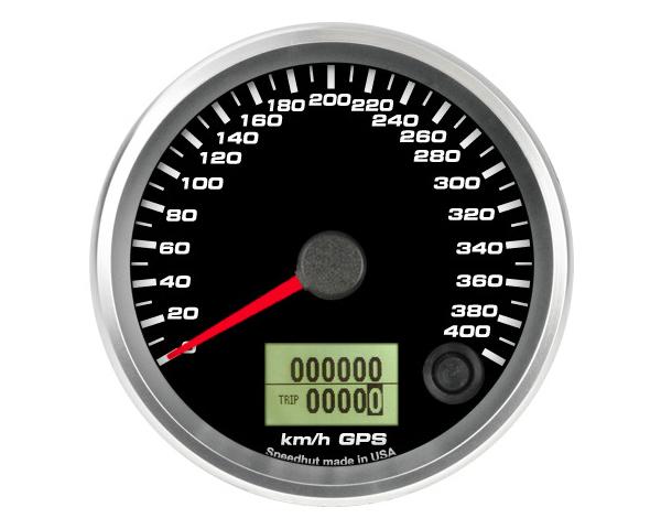 SpeedHut GRM338-GPS-07 GPS Speedometer Gauge 400kmh Metric