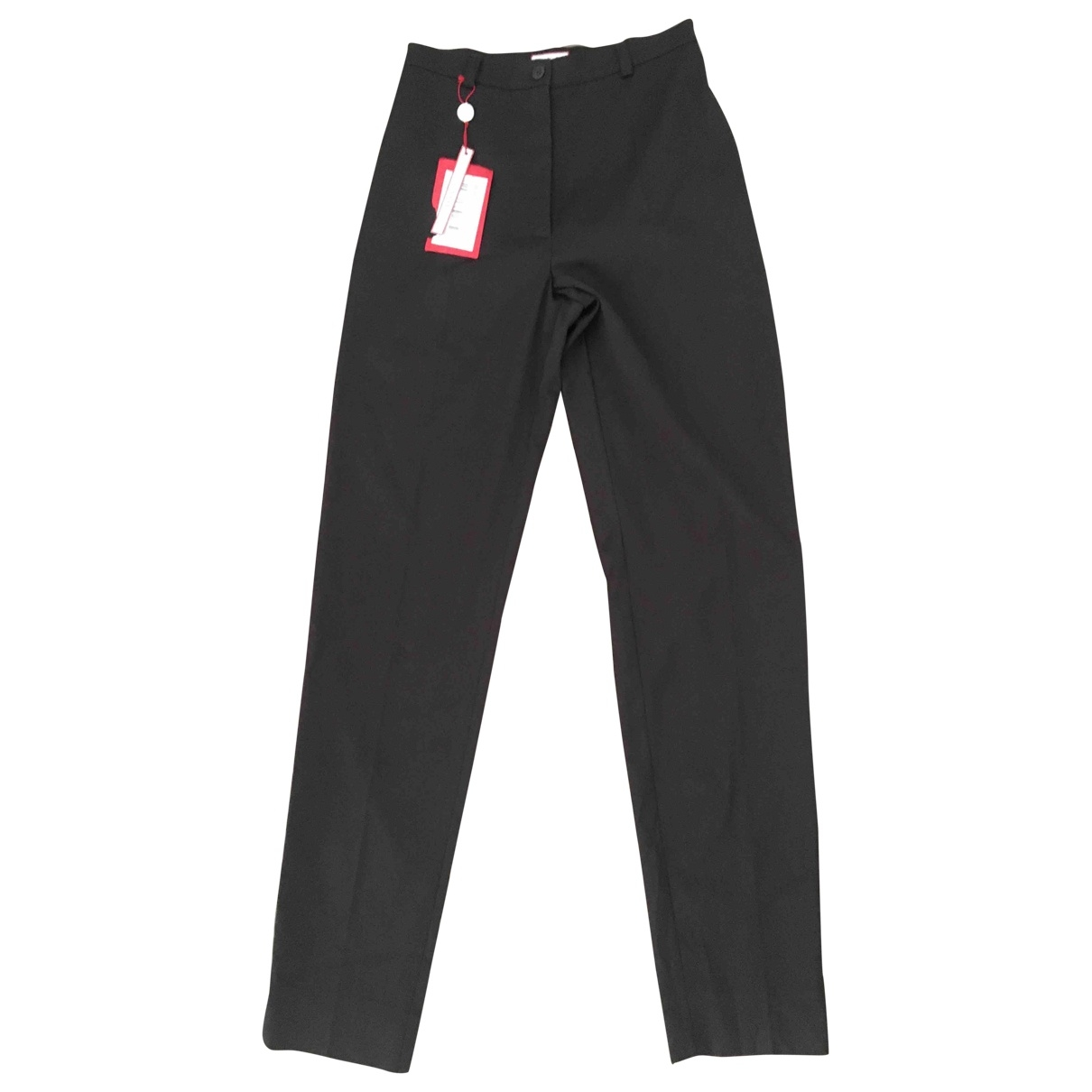 Max & Co \N Brown Trousers for Women 40 IT