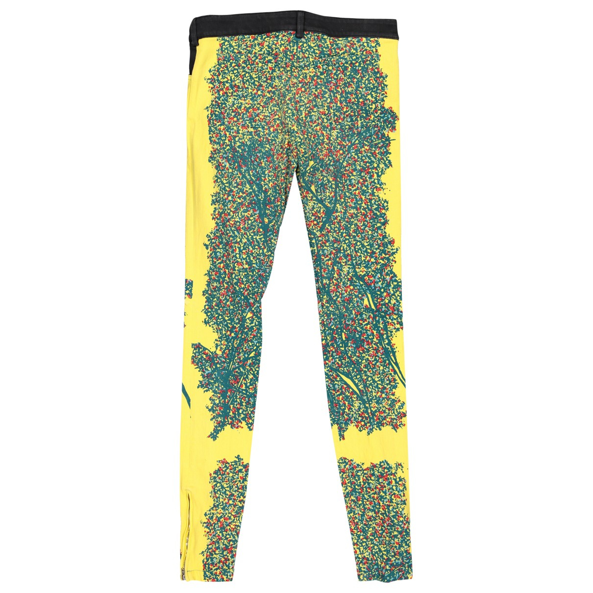 Balenciaga \N Multicolour Cotton Trousers for Women 38 FR
