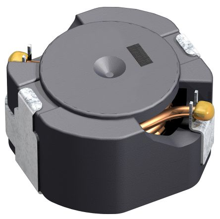 TDK , CLF-NI-D Shielded Wire-wound SMD Inductor with a Ferrite Core, 15 μH ±20% Wire-Wound 5.1 (Temperature) A, 5.85 (5)