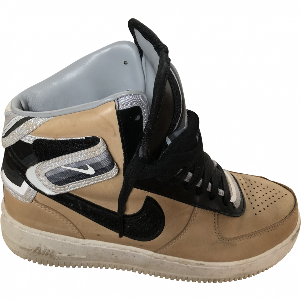 Nike By Riccardo Tisci \N Camel Leather Trainers for Women 39 EU