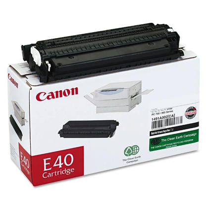 Canon E40 1491A002AA Original Black Toner Cartridge