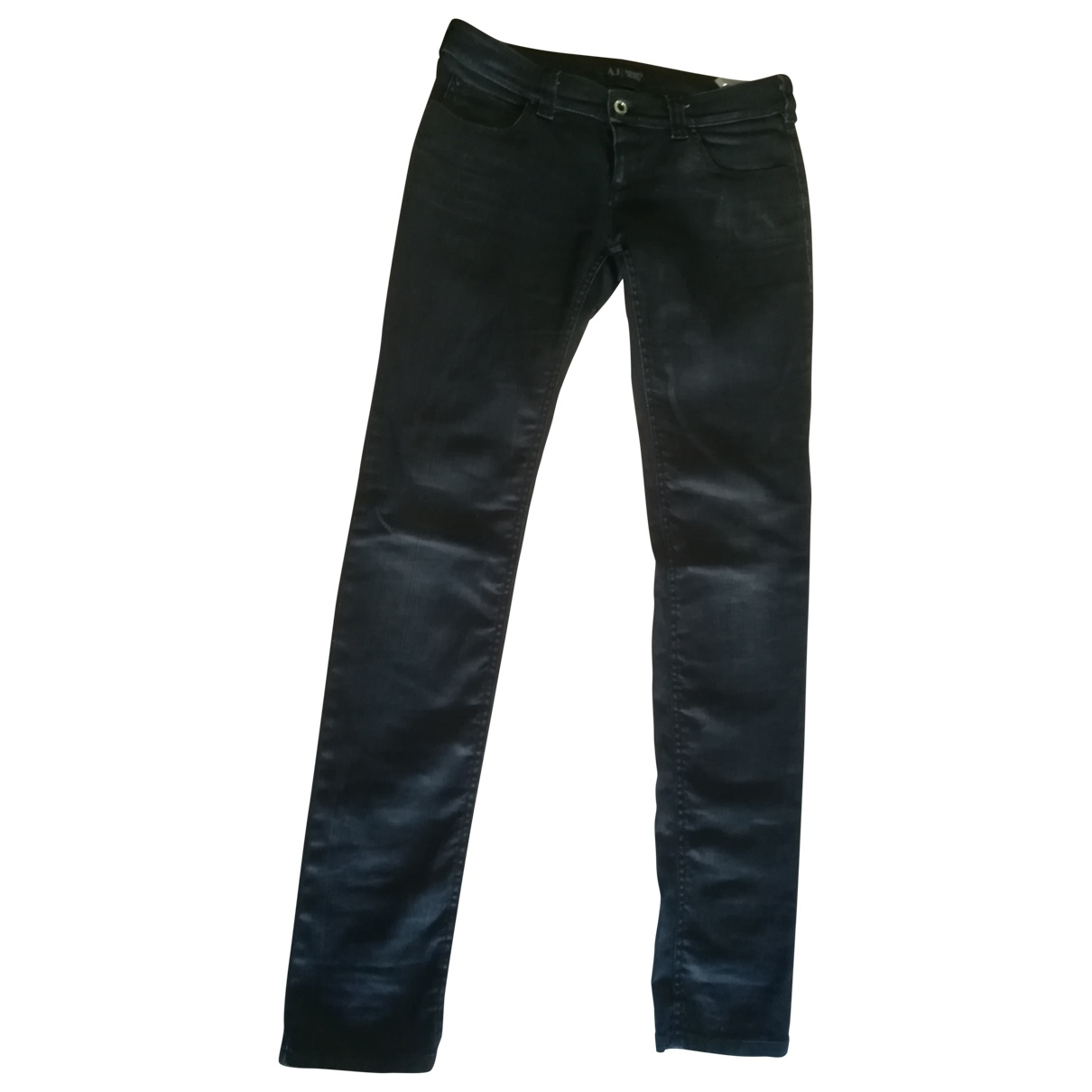Armani Jeans \N Black Denim - Jeans Jeans for Women 28 US