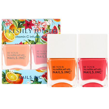NAILS INC. Freshly Juiced Nail Polish Duo, One Size , Multiple Colors