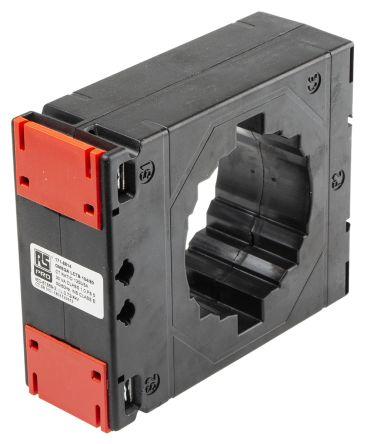 RS PRO Clip Fit Current Transformer, , 80 x 12mm diameter , 1.25kA Input, 5 A Output, 1250:5