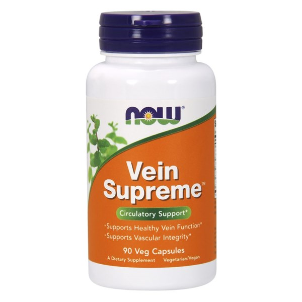 Vein Supreme 90 Veg Caps by Now Foods