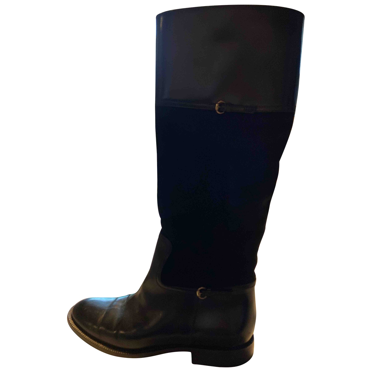 Gucci \N Black Leather Boots for Women 36 EU