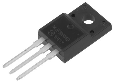 ON Semiconductor ON Semi MJF18004G NPN Transistor, 5 A, 450 V, 3-Pin TO-220