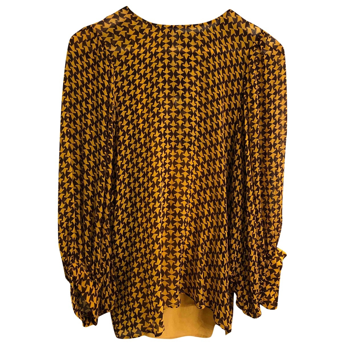Attic And Barn \N Yellow  top for Women 40 IT