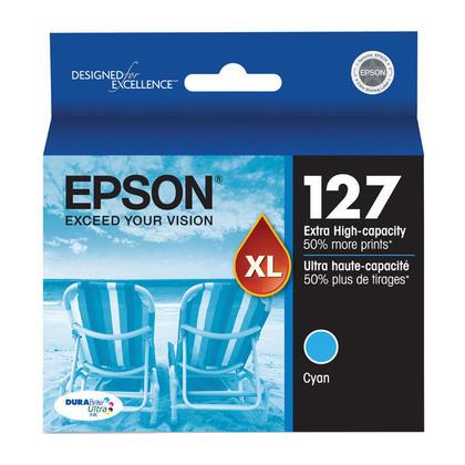 Epson T127220 cartouche d'encre originale cyan extra haute capacité