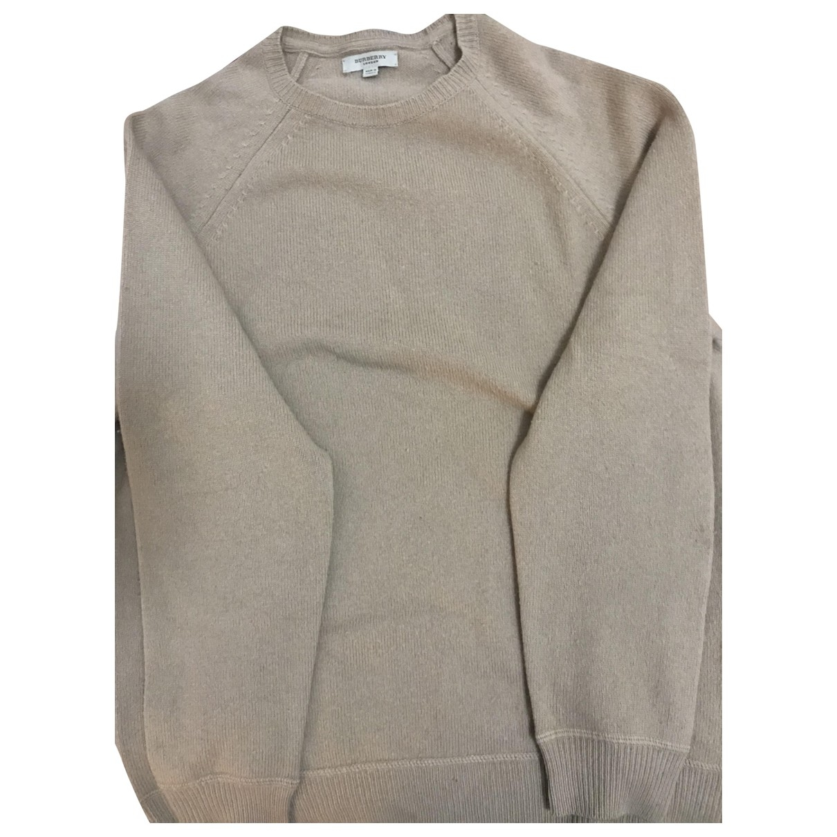 Burberry \N Beige Wool Knitwear & Sweatshirts for Men 50 IT