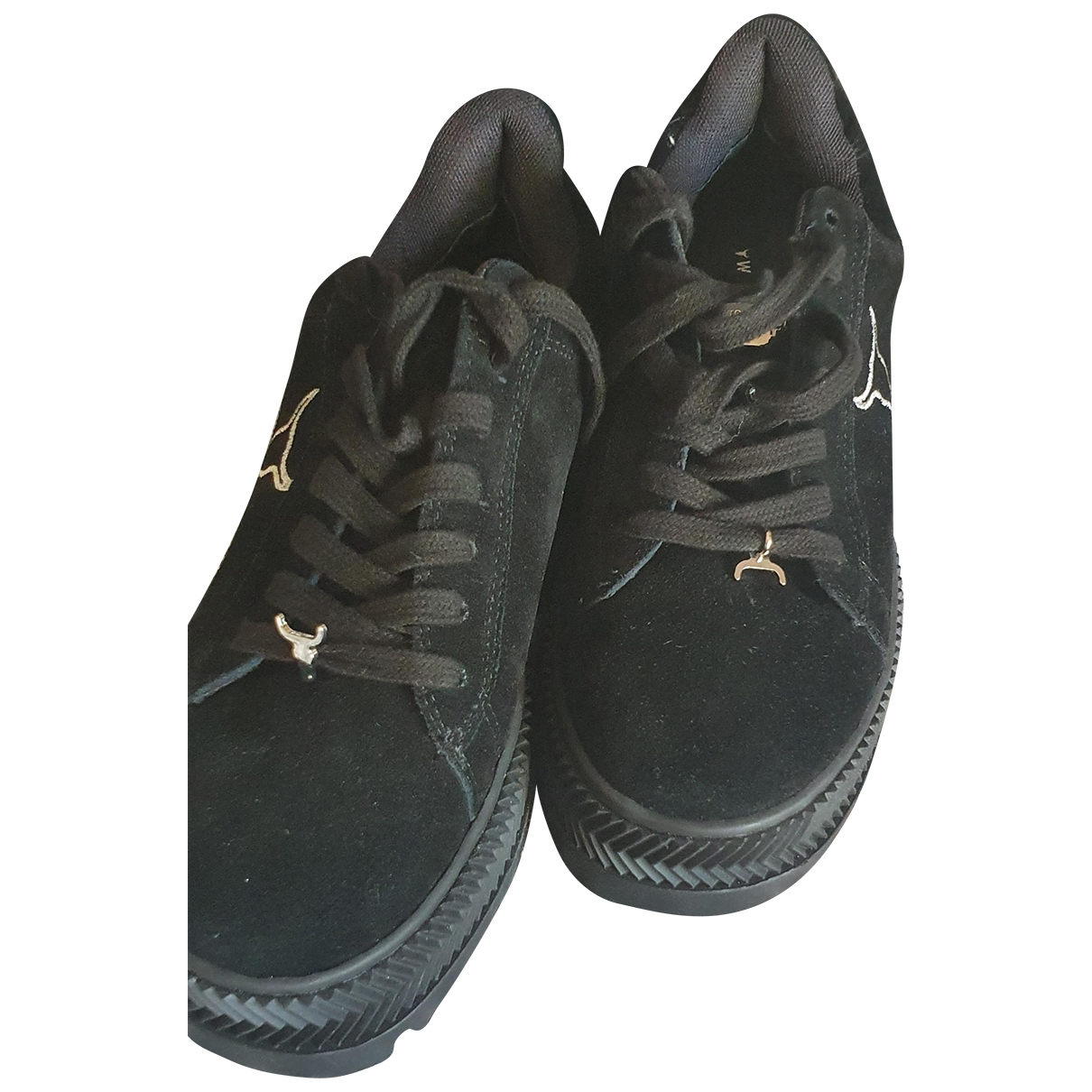 Windsor Smith \N Black Suede Trainers for Women 38 EU