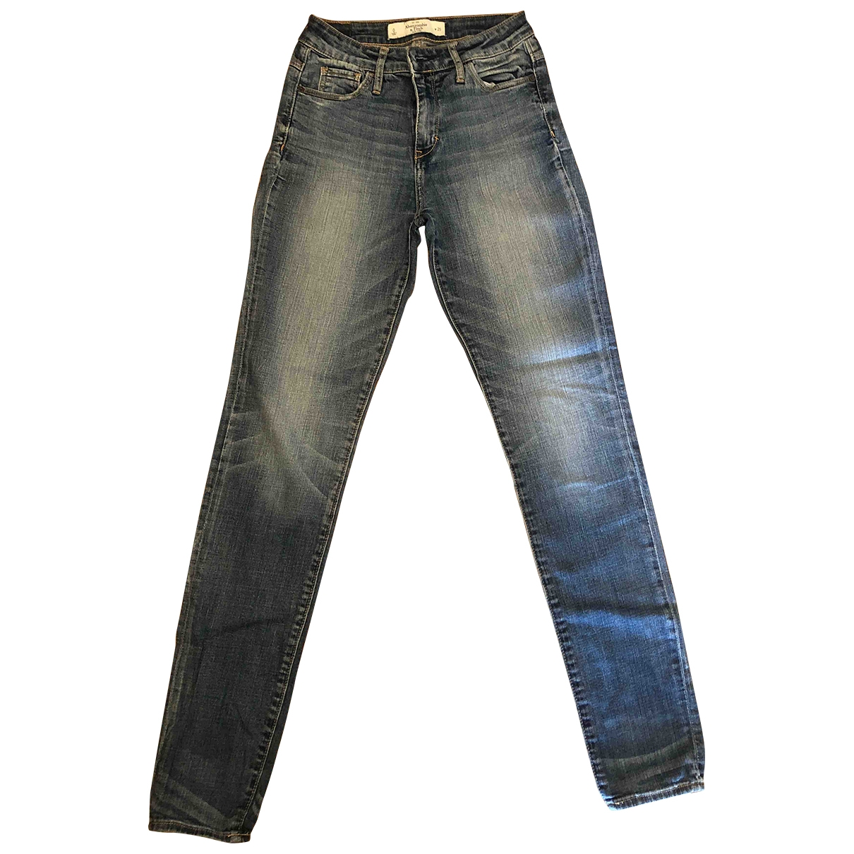 Abercrombie & Fitch \N Blue Denim - Jeans Jeans for Women 27 US