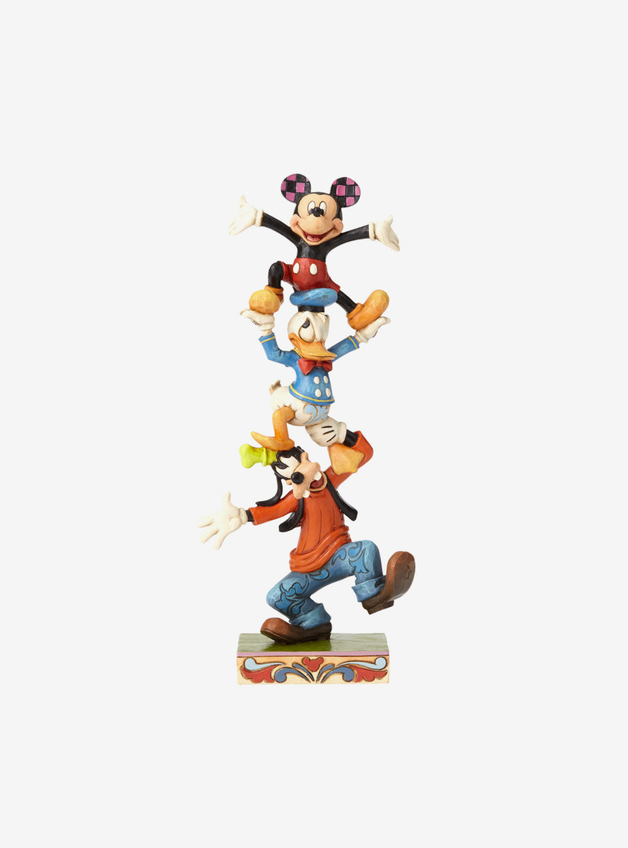 Disney Mickey Mouse Goofy and Donald Figure