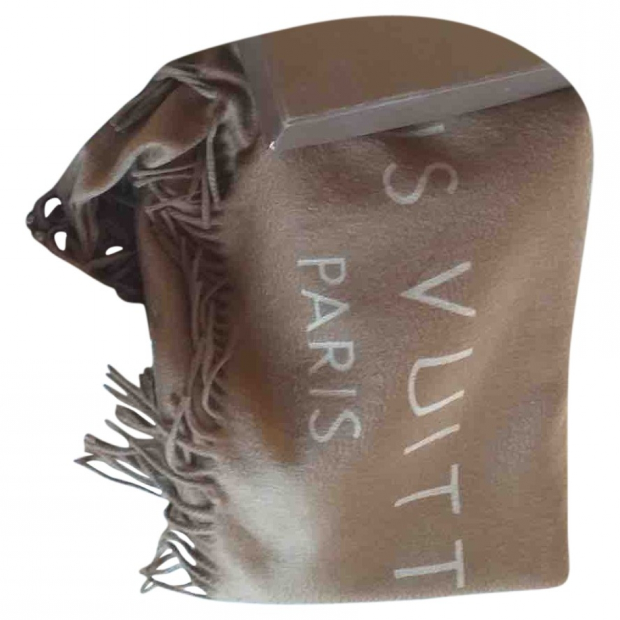 Louis Vuitton \N Camel Cashmere scarf for Women \N