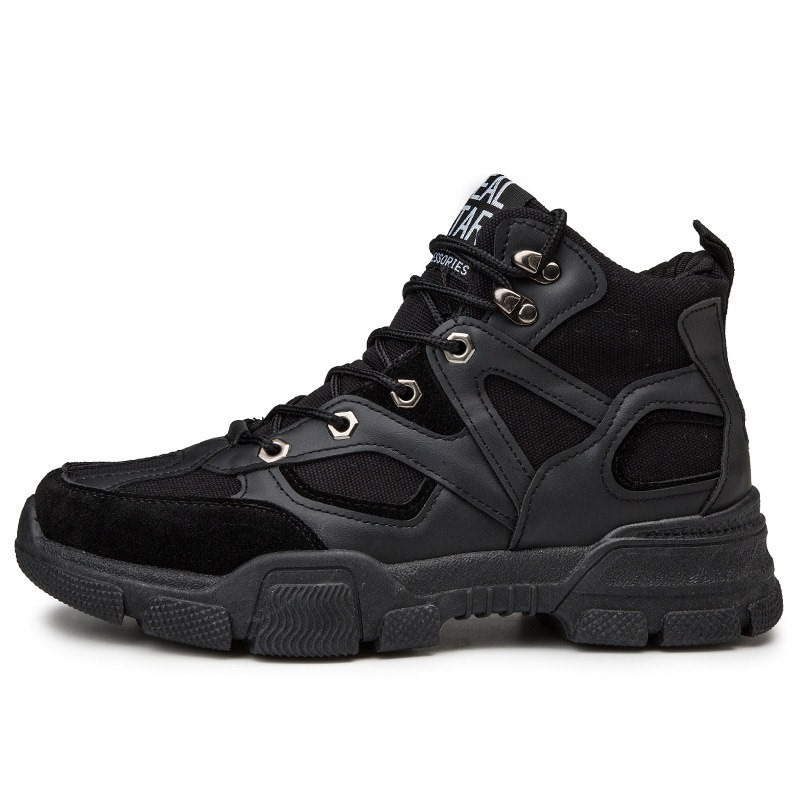 Ericdress Hidden Elevator Heel Lace-Up Round Toe Men's Sneakers