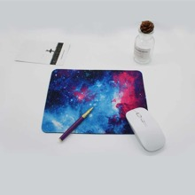 1pc Galaxy Print Mouse Pad