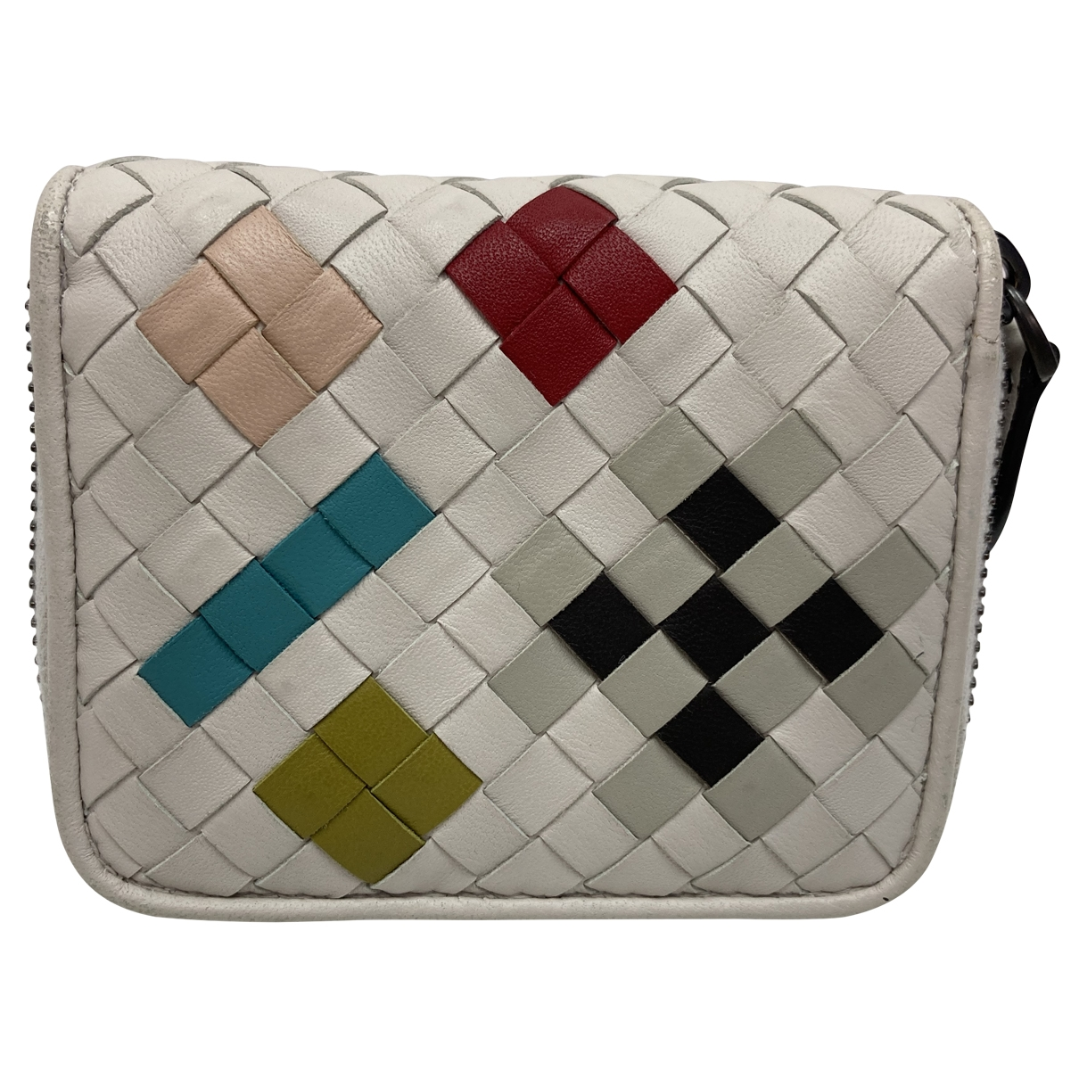 Bottega Veneta \N White Leather Purses, wallet & cases for Women \N