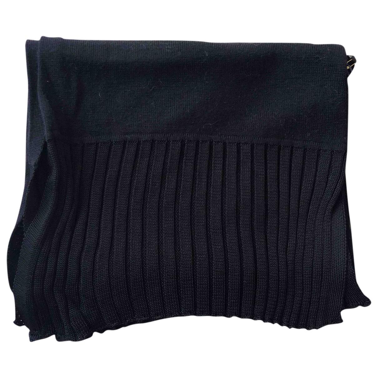 Boss \N Black Wool scarf for Women \N