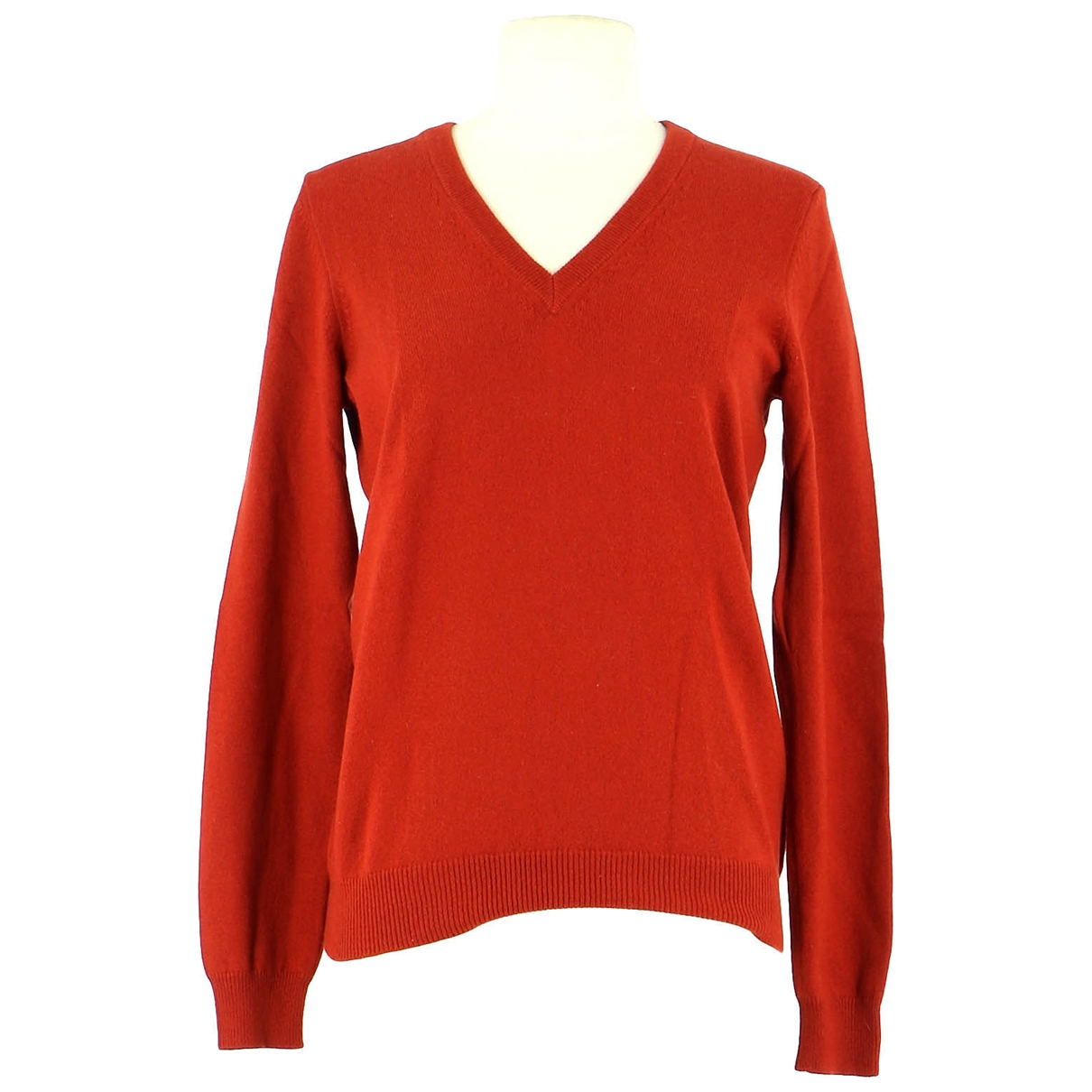 Eric Bompard \N Orange Cashmere Knitwear for Women 36 FR