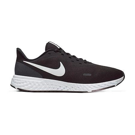 Nike Revolution 5 Mens Running Shoes, 10 1/2 Extra Wide, Black