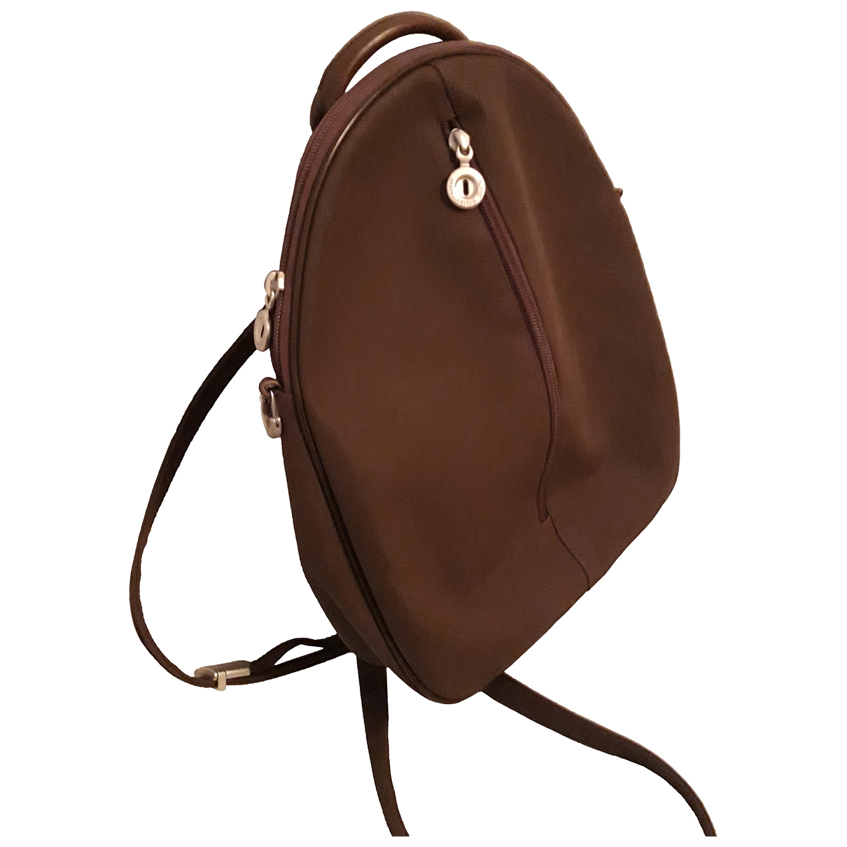 Non Signé / Unsigned \N Brown backpack for Women \N